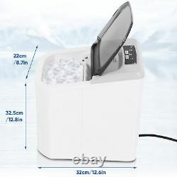 1.2 L Professional Electric Ice Cube Maker Machine Desktop Ice Making Commercial