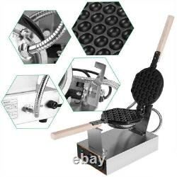 1400W Commercial Electric Nonstick Ice Cream Waffle Cone Baker Maker Machine