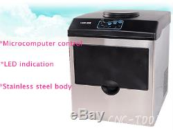 160W Commercial ice cube maker Bullet round ice making machine HZB-25/BF 220V