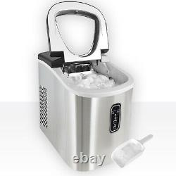 2.2L Commercial Ice Maker Machine Electric Portable Countertop Ice Cube Maker UK