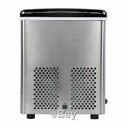20Kg/Day Portable Ice Cube Maker Machine LCD Display Commercial Counter Tabl Top
