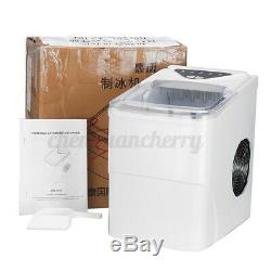 220V 2L Portable Electric Fast Ice Maker Commercial Machine Ice Cube Household