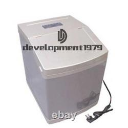 220V 4L Commercial Ice Maker Auto Clear Cube Ice Making Machine 25kg/24h