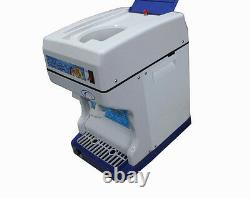 220V Commercial Electric Snow Cone Machine Ice Maker Ice Shaver Snow Crusher