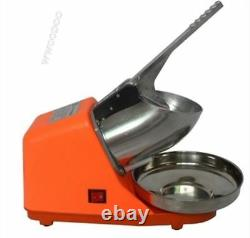 220V Electric Snow Cone Maker Ice Crusher Ice Shaver Machine Home Commercial wv