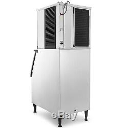 350 Lbs/24H Commercial Ice Maker Machine 160Kg Canteens 850W WHOLESALE GREAT