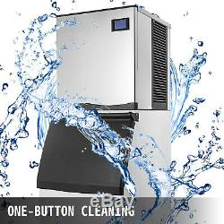 350 Lbs/24H Commercial Ice Maker Machine Bakeries Cafes LB-300T Ice Cream 850W