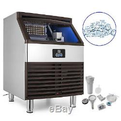 4068 KG/24H Commercial Ice Maker Machine Auto Clean Reservation Function 220V