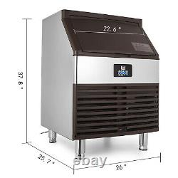 4068 KG/24H Commercial Ice Maker Machine Water Filter Canteens Supermarkets