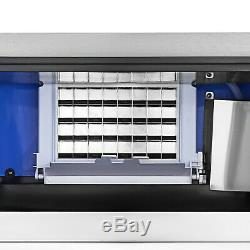 40KG/88LBS Commercial Ice Cube Maker Machine Digital Control R134a Ice Machine