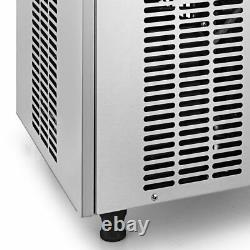 50KG Commercial Stainless Steel 110Lbs /24Hrs Ice Maker Machine Air Cooled Cube
