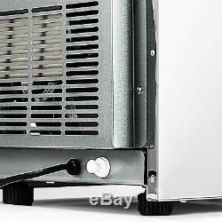 68KG/150Lbs Commercial Bar Ice Maker Cube Machine Stainless Steel 220V 50Hz