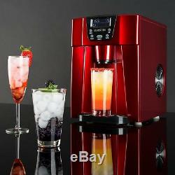 B-Stock Ice Maker Machine 2 Cubes size 12 kg/ day 2 l Tank Commercial Bar Disp