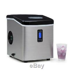 B-Stock Ice Maker Machine Commercial Counter Top 150 W 15 Kg LCD Display Black