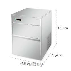B-Stock Ice Maker Machine Cube tray Industrial Commercial Stainless Steel 380W