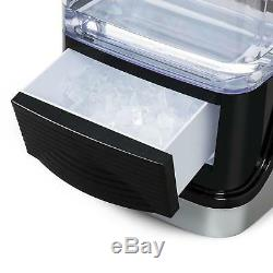 B-Stock Ice cube Maker Machine Home Commercial Appliance 15kg/day Crystal Cube