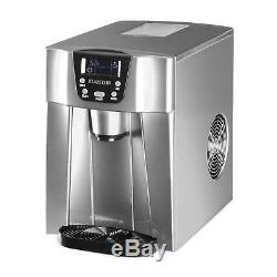 B-Stock Ice maker Machine 2 Cube Sizes Commercial Dispenser 12 kg/ day 2 L Tan