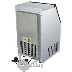 Built-In 50kg Auto Ice Cube Machine Commercial Ice Maker 110Lbs 230W 110V Top