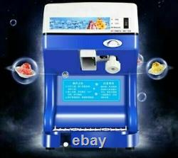 CE Commercial Electric Ice Crusher Ice Shaver Snow Cone Machine Ice Maker 220V U