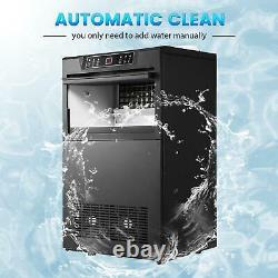 COMMERCIAL ICE MAKER STAINLESS STEEL MACHINE 160KG/24HR FREE Scoop Stores Bars