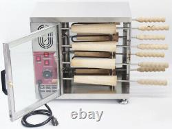 Commercial Electric Ice Cream Cone Chimney Cake Roll Maker Chimney Cake Oven Mac