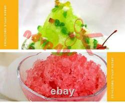 Commercial Electric Ice Crusher Ice Shaver Snow Cone Machine Ice Maker 220V