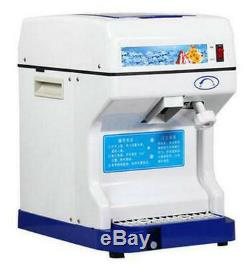 Commercial Electric Ice Crusher Ice Shaver Snow Cone Machine Ice Maker US