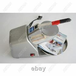 Commercial Electric Ice Crusher Shaver Machine Snow Cone Maker Slush Smoothie