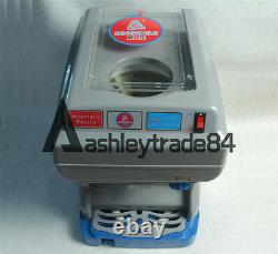 Commercial Electric Ice Shaver Ice Crusher Snow Cone Machine Ice Maker 220V