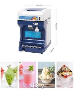 Commercial Electric Ice crusher 500 Watts Automatic Ice Shaver/Crusher/Blender