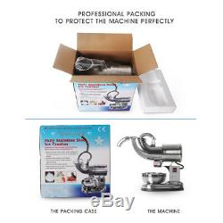 Commercial Eletric Ice Crusher Block Shaving Machine With A Stainless Steel Bowl