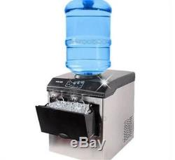 Commercial Ice Cube Maker Machine Bullet Round Ice Ice Block Making Factory M cg