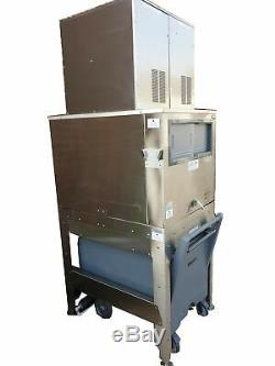 Commercial Ice Flaker ICS/Follett Compressed Ice Maker (260 Kg/24 Hrs) + Bin