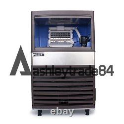 Commercial Ice Maker Auto Clear Cube Ice Making Machine 55kg/24h for Bar 220V