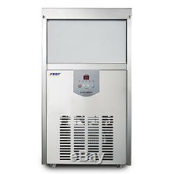 Commercial Ice Maker Clear Cube Ice Making Machine 48kg/24h 220V #