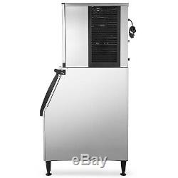 Commercial Ice Maker, Industrial Ice Machine 350 LBS/24H, Commercial Ice Machine