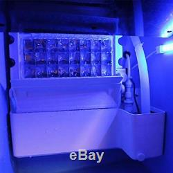 Commercial Ice Maker Machine 40kg Ice-Cube Making Stainless Steel Digital