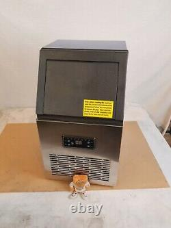 Commercial Ice Maker Stainless Steel Machine 40kg/24hr B0672