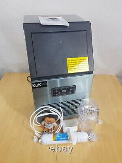 Commercial Ice Maker Stainless Steel Machine 40kg/24hr B1336