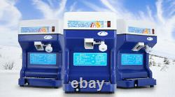 Commercial Ice Shaver Snow Cone Machine Maker