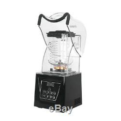 Commercial Smoothie Blender Ice maker Countertop Blenders 304 stainless steel