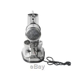 Commercial Stainless Steel Electric Ice Crusher Waterproof Switch 20CM SS Bowl