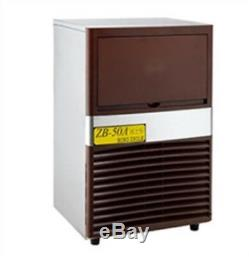 Commercial Super 40Kg/Day Ice Maker Cooling System Ice Machine New vi