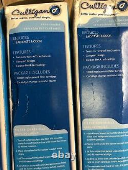 Culligan Easy Change Water Filter Icemaker Under-Sink Cartridge 1000R LOT OF 3