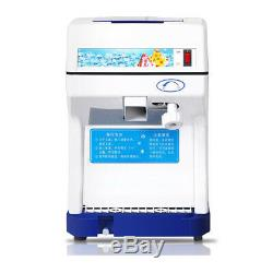 Electric Commercial Snow Cone Machine Ice Maker Ice Shaver Snow Crusher New