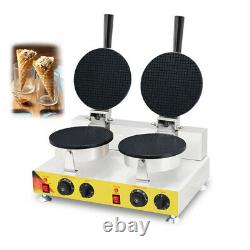 Electric Ice Cream Cone Egg Roll Maker Nonstick Commercial Egg Roll Machine 110V