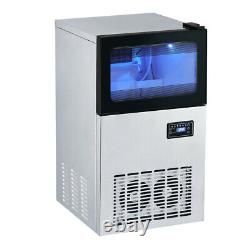Electric Ice Maker Steel Commercial Bar Ices Cubes Making Machine Touch Control