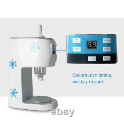 Electric Snowflake Ice Machine Commercial Smoothie Snow Cone Maker 70kgs/hour