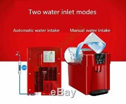 Household Multifunctional Ice Maker Commercial Automatic Round Cube Machine Tool