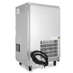 Ice Cube Making Machine Commercial Ice Maker 45KG/100LBS Per 24H Auto Clean
